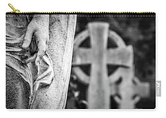 Hand And Cross Carry-all Pouch