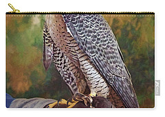 Carry-all Pouch featuring the photograph Hand Of The Falconer by Nikolyn McDonald