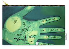 Hand Print Carry-all Pouch