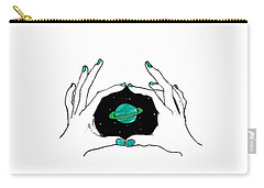 Hands Around Saturn Carry-all Pouch
