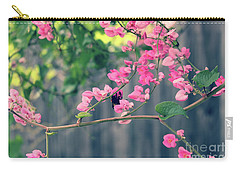 Carry-all Pouch featuring the photograph Hang On by Megan Dirsa-DuBois