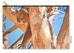 Carry-all Pouch featuring the photograph Hanging Around, Yanchep National Park by Dave Catley
