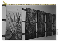 Carry-all Pouch featuring the photograph Hanging Art by Rob Hans