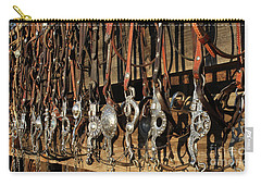 Hanging Bits Carry-all Pouch by Diane Bohna
