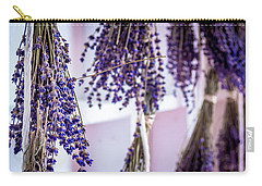 Hanging Lavender Carry-all Pouch