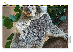 Hanging On Carry-all Pouch by Jamie Pham