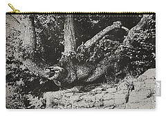 Carry-all Pouch featuring the photograph Hanging On by Keith Elliott