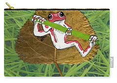 Hanging On Carry-all Pouch by Ralph Root