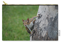 Carry-all Pouch featuring the photograph Hanging On by Rob Hans