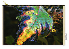 Carry-all Pouch featuring the photograph Hanging Out by Joan  Minchak