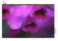 Hanging Purple Tropical Flowers Up Close- Kauai- Hawaii Carry-all Pouch