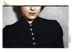 Carry-all Pouch featuring the photograph Hannah Arendt by Granger