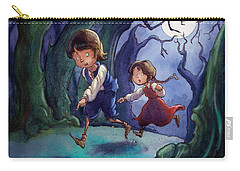 Hansel And Gretel Pebbles Carry-all Pouch