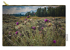 Happier In The Mountains Carry-all Pouch