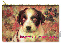 Carry-all Pouch featuring the digital art Happiness 2016 by Kathryn Strick