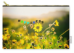 Happiness Carry-all Pouch by Joseph S Giacalone