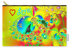 Happiness Carry-all Pouch by Kevin Caudill