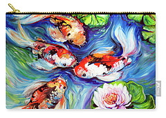 Happiness Koi Carry-all Pouch