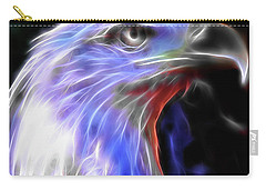 Carry-all Pouch featuring the photograph Happy 4th Of July by Elaine Malott
