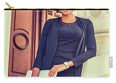 Happy African American College Student Carry-all Pouch