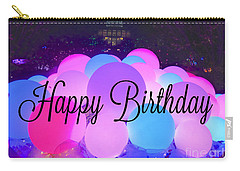 Happy Birthday Bubbles Carry-all Pouch