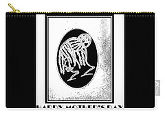 Happy Birthday Card Vintage Carry-all Pouch