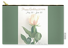 Happy Birthday Gemini Carry-all Pouch