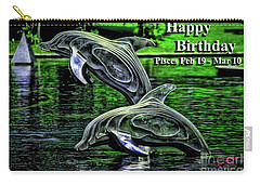 Happy Birthday Pisces Carry-all Pouch