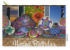 Happy Birthday Shells Carry-all Pouch