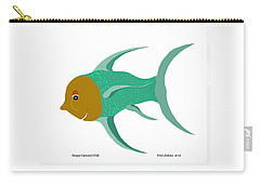 Happy Carnival Fish Carry-all Pouch