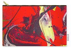 Happy Cow -  Cute Abstract Animals Art Carry-all Pouch