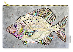 Happy Crappie Carry-all Pouch