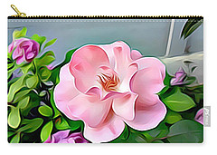 Carry-all Pouch featuring the digital art Happy Day by Lucia Sirna