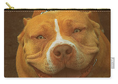 Happy Carry-all Pouch by Dennis Baswell