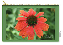 Happy Face Flower Carry-all Pouch