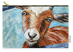 Happy Goat Carry-all Pouch