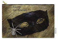 Happy Halloween Carry-all Pouch by Patrice Zinck