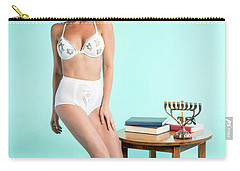 Happy Hanukkah 6 Carry-all Pouch by Lisa Piper