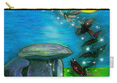 Happy Haunting Carry-all Pouch by Diana Haronis