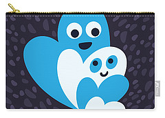 Happy Hearts Family Carry-all Pouch