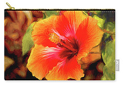 Happy Hibiscus Carry-all Pouch