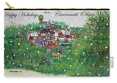 Happy Holidays From Cincinnati Ohio Carry-all Pouch