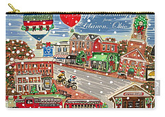 Happy Holidays From Lebanon, Ohio Carry-all Pouch