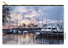Happy Hour Sunset At Bluewater Bay Marina, Florida Carry-all Pouch