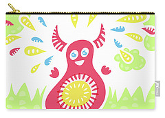 Happy Jumping Creature Carry-all Pouch