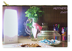 Carry-all Pouch featuring the photograph Happy Mothers Day by Denise Fulmer
