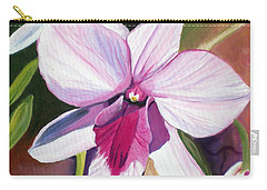 Happy Orchid Carry-all Pouch