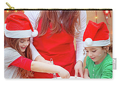 Happy Preparation For Christmas Holidays Carry-all Pouch