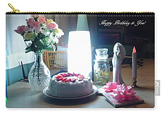 Carry-all Pouch featuring the photograph Happy Returns by Denise Fulmer
