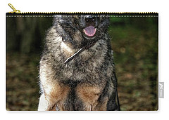 Carry-all Pouch featuring the photograph Happy Roxy by Nikki McInnes
